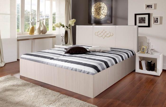 Кровати «Аврора 3» с бескаркасным основанием