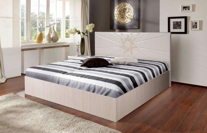 Кровати «Аврора 5» с подъёмным механизмом