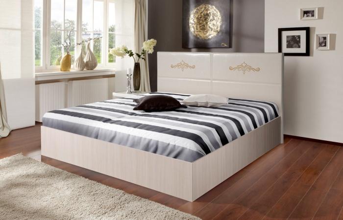 Кровати «Аврора 8» с бескаркасным основанием